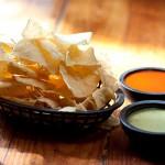 Molina's Cantina Chips and salsas