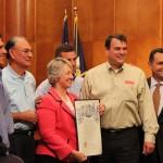 Mayor proclaims July 1st - Molina's Cantina Day