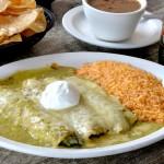 Molina's Cantina Spinach Enchiladas