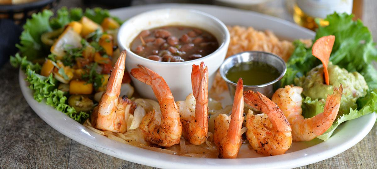 Molina's Cantina Raulito's Shrimp Special