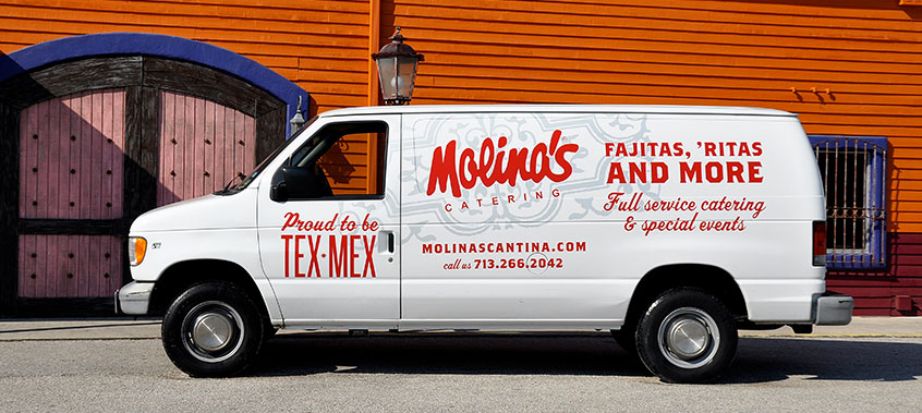 Molina's Cantina offers Catering services